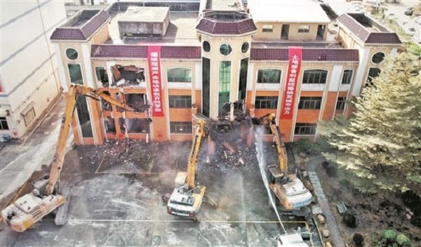 福城观澜土整项目集中开拆
