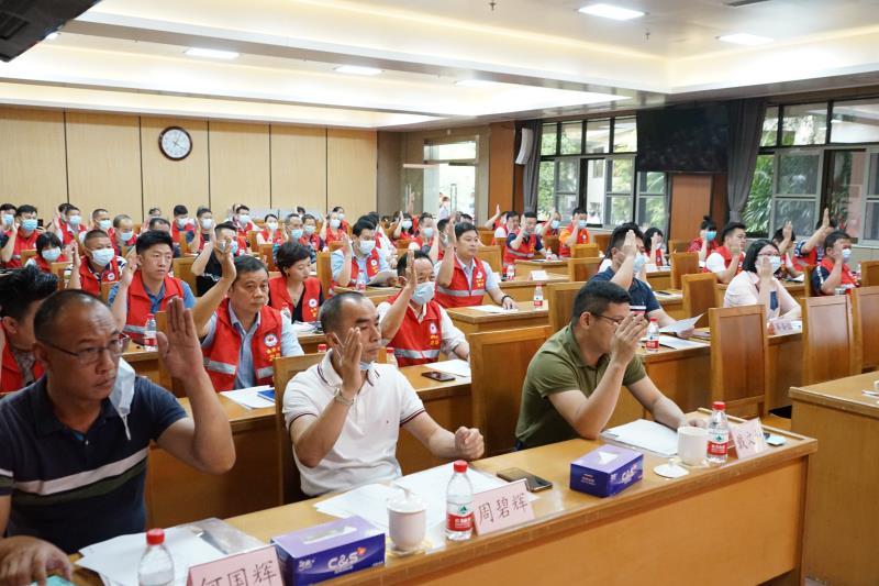 龙华区召开楼长联合会第一届会员代表大会