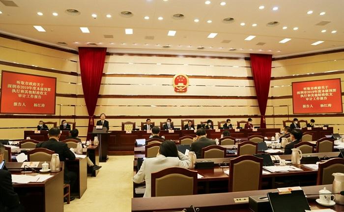 深圳市审计局向市人大常委会报告2019年度市本级预算执行和其他财政收支审计工作