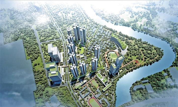 Digital economy industrial park to be built in Guanlan,longhua,longhua district,Longhua Government Online